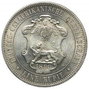 Niemcy Afryka Wschodnia, Wilhelm II, 1 rupia 1890