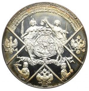 Medal z serii królewskiej PTAiN, Stanisław August Poniatowski 1992 (srebro)