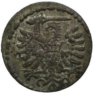 Zygmunt III Waza, denar 1590, Gdańsk