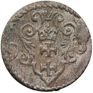 Zygmunt III Waza, denar 1593, Gdańsk