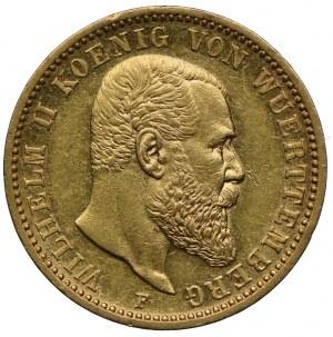 Niemcy, Wirtembergia, Wilhelm II, 20 marek 1897 F