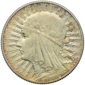 5 złotych 1932 bez znaku, Głowa Kobiety