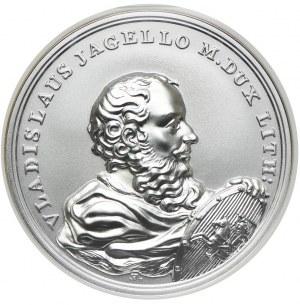 50 złotych 2015, Władysław Jagiełło, Skarby Stanisława Augusta, NGC MS70