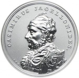 50 złotych 2015, Kazimierz Jagiellończyk, Skarby Stanisława Augusta, NGC MS70