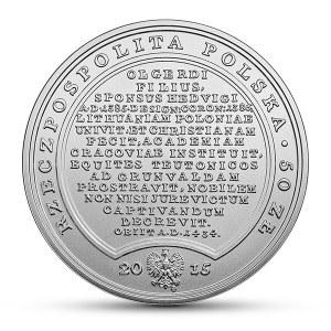 50 złotych 2015, Władysław Jagiełło, Skarby Stanisława Augusta