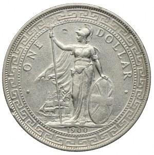 Wielka Brytania, 1 dolar 1900 B, Bombaj