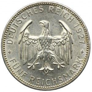 Niemcy, Republika Weimarska, 5 marek 1927, 450-lecie Uniwersytetu w Tübingen