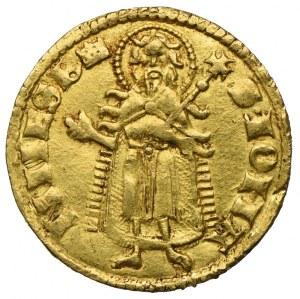 Ludwik Węgierski (1370-1382), Goldgulden Buda