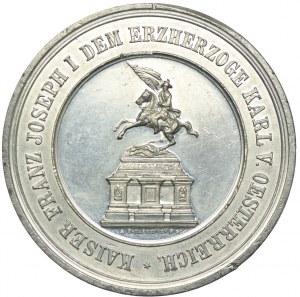 Austria, medal, cyna
