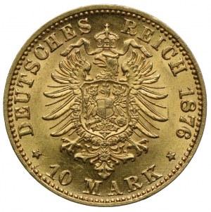 Niemcy, Badenia, Fryderyk I, 10 marek 1876 G