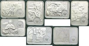 Zestaw monet, 20 złotych 2002-2009 Malarze (7szt.)