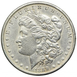 USA, 1 dolar 1889, Filadelfia