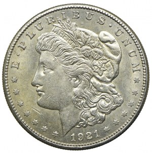 USA, 1 dolar 1921, Filadelfia