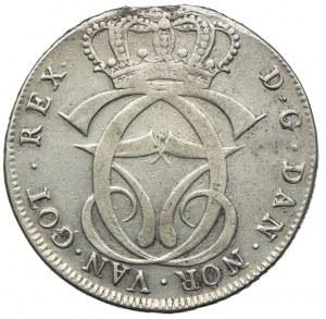 Dania, Christian VII, speciedaler 1768 HSK