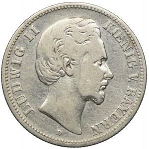 Niemcy, Bawaria, 2 marki 1876 D/Monachium