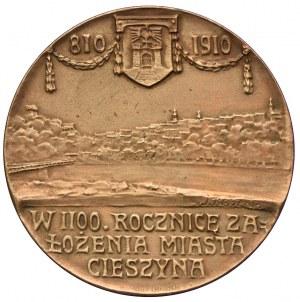 Medal, 1100-lecie założenia Cieszyna syg. J. RASZKA
