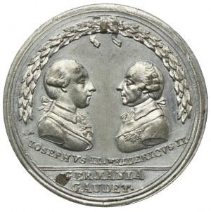 Pokój Cieszyński 1779, medal, rzadki