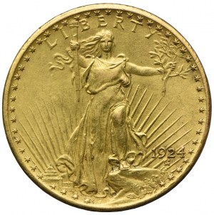USA, 20 dolarów 1924