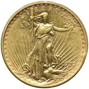 USA, 20 dolarów 1922