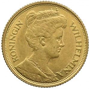 Holandia, Wilhelmina, 5 guldenów 1912