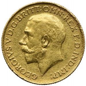 Wielka Brytania, Jerzy V, 1 suweren 1911