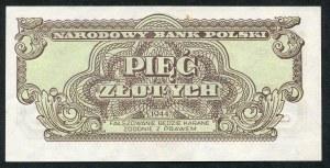 5 złotych 1944 ...owym - CH -