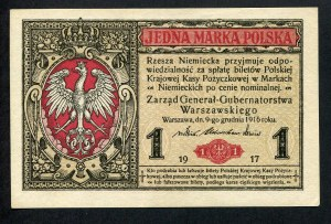1 marka 1916 generał, seria B