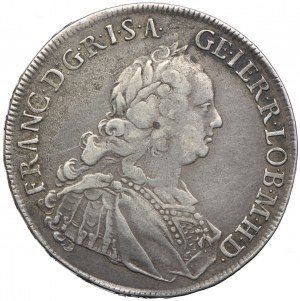 Austria, Franciszek I, 1/2 talara 1762, Hall
