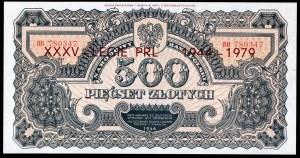 500 złotych 1944 ...owe - BH - emisja pamiątkowa