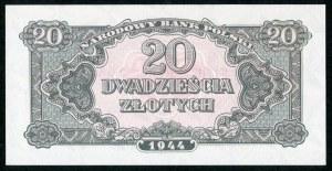 20 złotych 1944 ...owe - Ak - emisja pamiątkowa