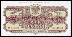 5 złotych 1944 ...owe - aE - emisja pamiątkowa