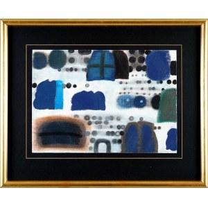 Jan Tarasin (1926-2009), Ciała niebieskie, 1991