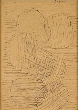 Henryk Stażewski (1894 -1988), Kompozycja, 1961