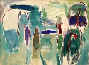 Tadeusz Dominik (1928-2014), Park, 1957