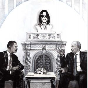 THE KRASNALS. KRASNAL HAŁABAŁA, We are White, we are the World / Barack Obama, Michael Jackson, Vladimir Putin, 2009