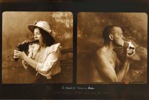 Jan Saudek (ur. 1935), Portret mężczyzny i kobiety