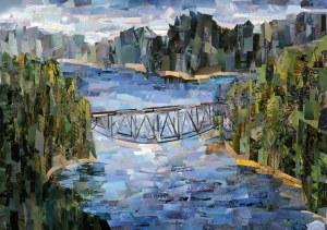 Magdalena Targońska, Most w Pilchowicach, 2020r.