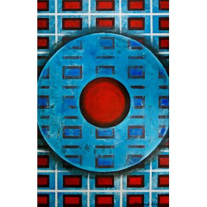 Andrzej Grabowski (ur. 1962), Red hot button, 2021