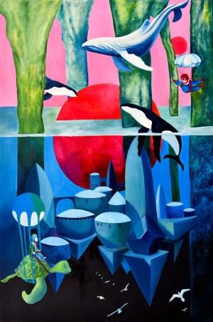 Weronika Lipka (ur. 1992), Dwa księżyce, 2021