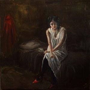 Jacek Jędral (ur. 1973), Kobieta z lusterkiem, 2020
