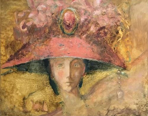Olga Bukowska, W kapeluszu