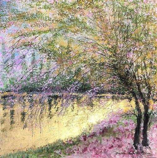 Mariola Świgulska (ur. 1961), Romantic blossom, 2021