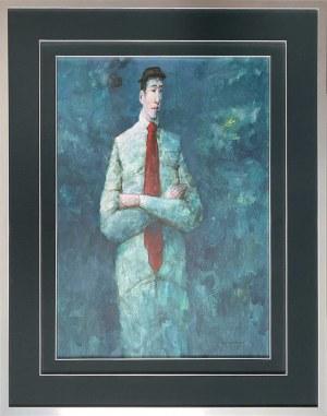 Waldemar Jerzy Marszałek ( 1960), Nokturn z czerwonym krawatem 2020