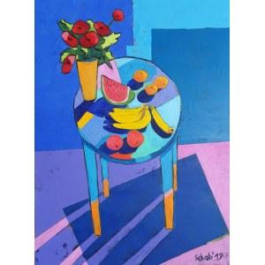 Dawid Schab ( 1973 ), Niebieski stół 2019
