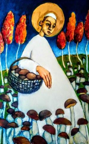 Miro Biały, Ojciec Święty na grzybobraniu, 2020