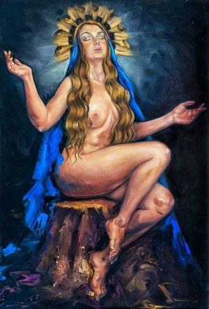 Krystyna Khvostyk, Madonna, 2021