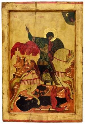 Ewa Jaworska, Święty Jerzy na podstawie rosyjskiego przedstawienia z XVI wieku, 2020