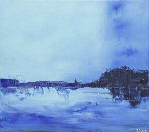 Yuliya Stratovich, Blue Valentine, 2021