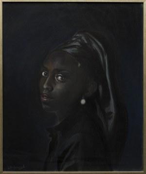 Tomasz Włodarczyk, Portret dziewczyny z perłą II, 2021