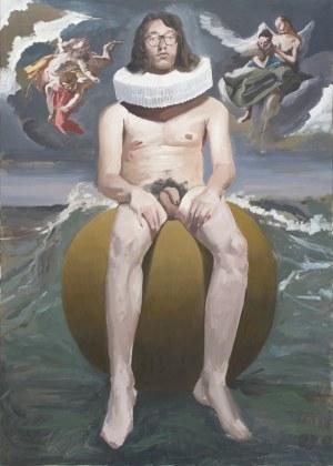 Tymon Tryzno, Autoportret w kryzie, 2020